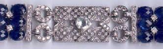 [Ausschnitt Saphir Diamant Gold Armband #10]