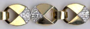 [Ausschnitt Cartier Diamant Gold Armband #14]