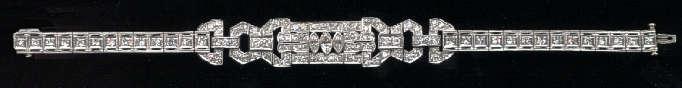 [Grossbild Brilliant Diamant Platin Armband #1]