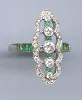 [Grossbild Smaragd Ring #11]