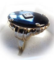 [Grossbild Onyx Ring #3]