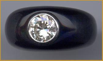 [Grossbild Onyx Ring #6]
